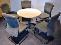 Pequeña sala de reunión Foto de archivo libre de regalías