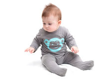 Pequeña sentada del bebé Imagen de archivo