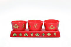 Pequeña taza de té Fotografía de archivo libre de regalías