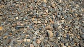 Pequeña textura de las piedras Imagen de archivo