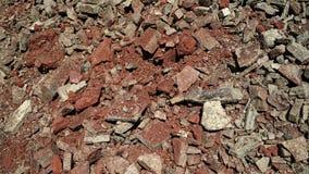 Pequeña textura de las piedras Fotografía de archivo