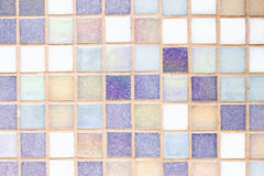 Pequeña textura de las tejas Foto de archivo libre de regalías