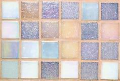 Pequeña textura de las tejas Foto de archivo
