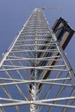 Pequeña torre de radio solar Imagenes de archivo
