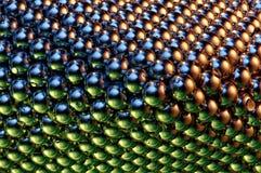 Pequeñas bolas magnéticas Imagen de archivo libre de regalías