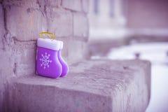 Pequeñas botas del juguete Foto de archivo libre de regalías