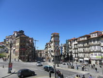 Pequeñas calles antiguas de la ciudad Fotos de archivo