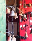 Pequeñas campanas de puerta Imagen de archivo