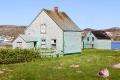 Pequeñas casas modestas Fotografía de archivo libre de regalías