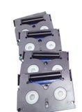 Pequeñas cintas de video foto de archivo libre de regalías