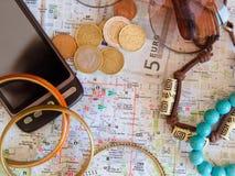 Pequeñas cosas para el viaje Imágenes de archivo libres de regalías