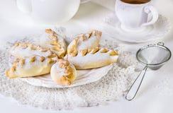 Pequeñas empanadas dulces Imagenes de archivo