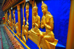 Pequeñas esculturas de Buddhas Imagen de archivo libre de regalías