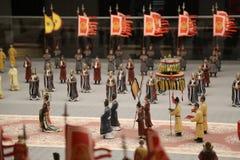 Pequeñas estatuas chinas Imágenes de archivo libres de regalías