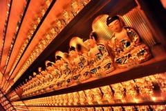 Pequeñas estatuas de Buda del coreano Imágenes de archivo libres de regalías