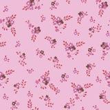 Pequeñas flores rosadas Imágenes de archivo libres de regalías