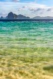 Pequeñas islas en el horizonte foto de archivo libre de regalías