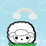 Pequeñas ovejas lindas Fotografía de archivo