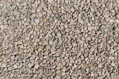 Pequeñas piedras de la textura Fotografía de archivo