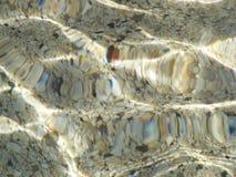 Pequeñas piedras en el mar Fotografía de archivo libre de regalías