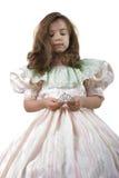 Pequeñas princesa y corona fotografía de archivo libre de regalías