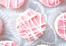 Pequeñas tortas Imágenes de archivo libres de regalías