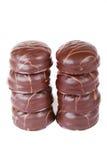 Pequeñas tortas de chocolate 9 Fotografía de archivo