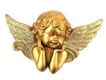 Pequeño ángel aislado Imagenes de archivo