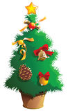 Pequeño árbol de navidad Foto de archivo