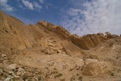 Pequeño acantilado del cráter Imagen de archivo libre de regalías