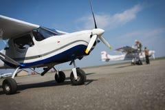 Pequeño aeroplano Foto de archivo