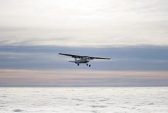 Pequeño aeroplano Foto de archivo libre de regalías