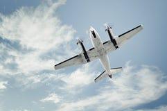 Pequeño aeroplano del propulsor foto de archivo libre de regalías