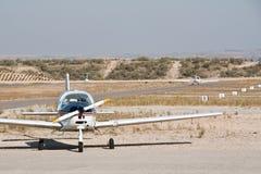 Pequeño aeroplano del propulsor Foto de archivo