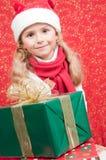 Pequeño ayudante de Papá Noel Imagenes de archivo
