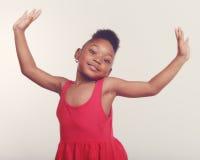 Pequeño bailarín Girl Fotografía de archivo libre de regalías