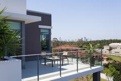 Pequeño balcón Imagen de archivo