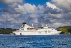 Pequeño barco de cruceros Imagen de archivo