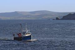 Pequeño barco de pesca Fotografía de archivo