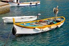 Pequeño barco de pesca Imágenes de archivo libres de regalías