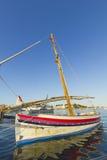 Pequeño barco de pesca Foto de archivo