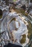 Pequeño barranco Fotografía de archivo