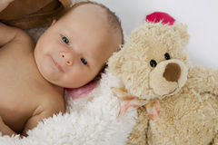 Pequeño bebé Fotos de archivo libres de regalías