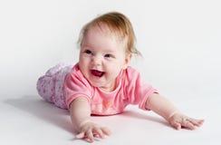 Pequeño bebé adorable Imagen de archivo