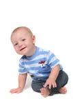 Pequeño bebé curioso imagen de archivo libre de regalías