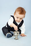 Pequeño bebé de Bbeautiful Fotos de archivo