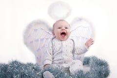 Pequeño bebé feliz Foto de archivo