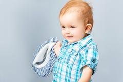 Pequeño bebé hermoso Imagenes de archivo