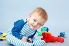Pequeño bebé hermoso Foto de archivo