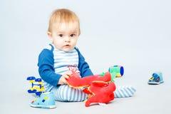 Pequeño bebé hermoso Fotografía de archivo